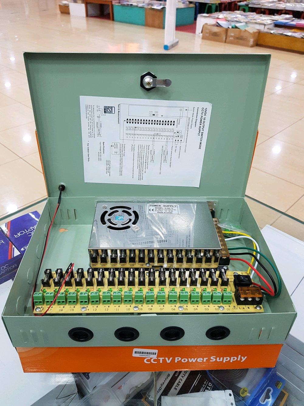 medium resolution of ready bos power supply box 20a 12volt harga murah ready
