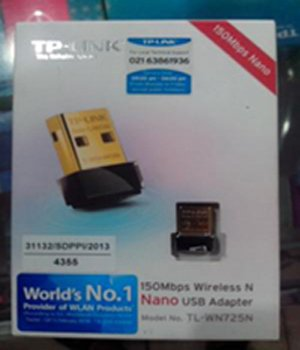 USB WIFI ADAPTOR TP LINK TL-WN725N