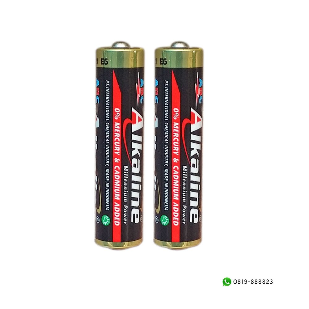 Jual Baterai ABC Alkaline AAA Millenium Power 15V 4 plus