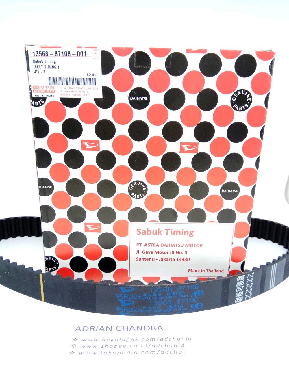 medium resolution of timing belt ori import 001 daihatsu feroza taruna