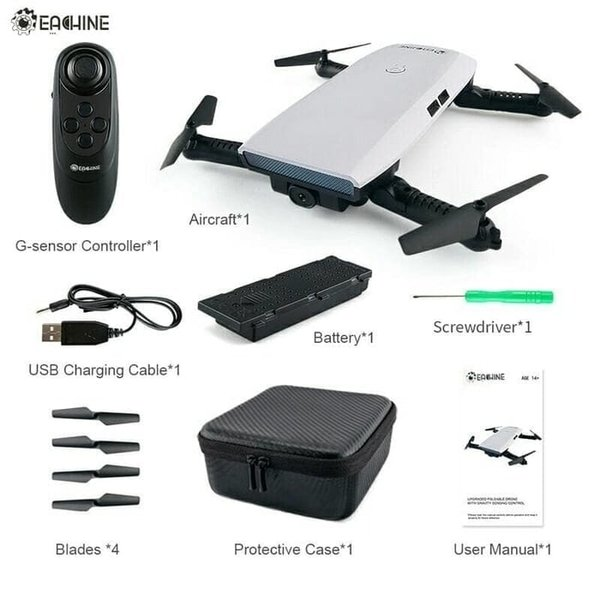 Jual Eachine E56 720P WIFI FPV Selfie Drone DJI Spark Killer Unik