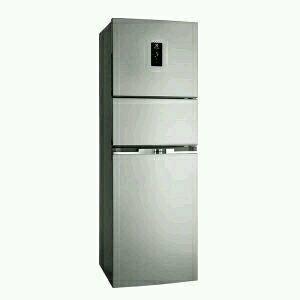 Electrolux kulkas 3 pintu 3500 gratis cookware ceramik set 3pcs