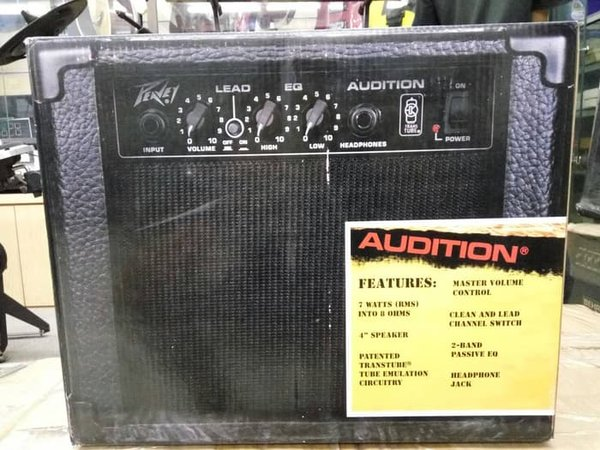 PEAVEY Audition Amplifier  Ampli  Amply Gitar Combo Kecil 4
