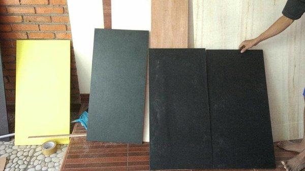New 120 x 60 meja lipat hollow 2x2 untuk cafe vape bazar pameran
