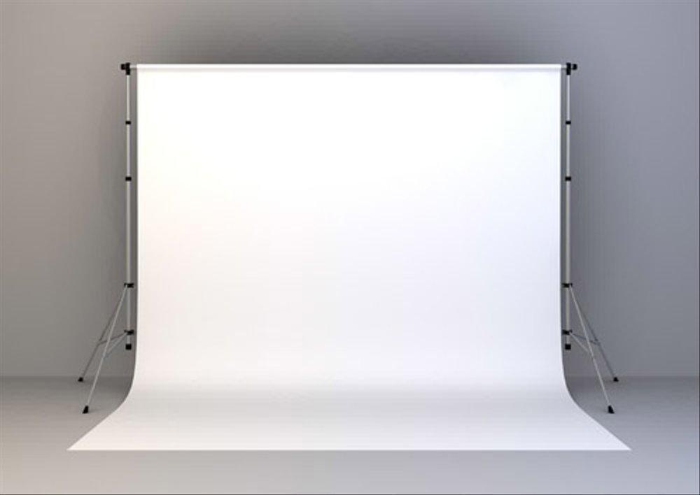 Jual Background Backdrop Latar Foto Studio Putih Polos di