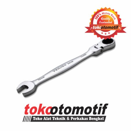 Kunci Ring Pas Ratchet Flexible TEKIRO 12 mm Original Alat Teknik