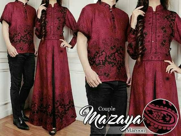 Terbaru - Baju couple -Baju batik couple-Baju muslim couple