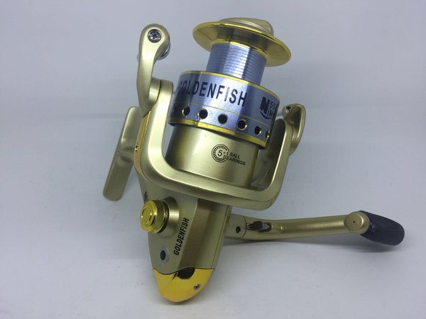 Fishing reel alat pancing kerekan Golden fish NIMO551 ball bearing 6