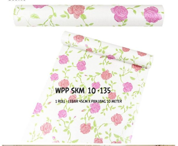 wpp 10m 135 WALLPAPER Roll sticker