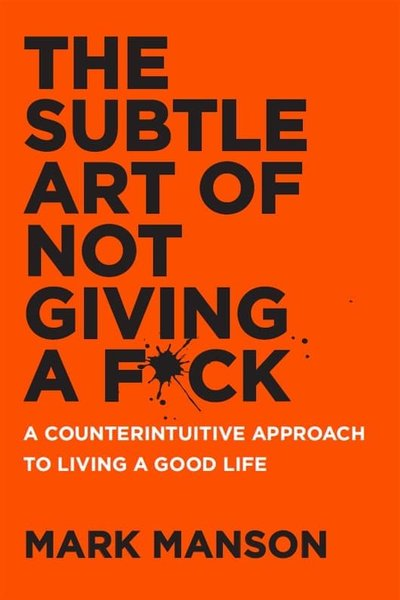 Jual The Subtle Art Of Not Giving A F Ck By Mark Manson Ebook E