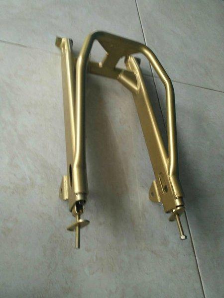Supitan Swing Arm Supra Jupiter B Pro Besi Model Ninja Kuning Emas