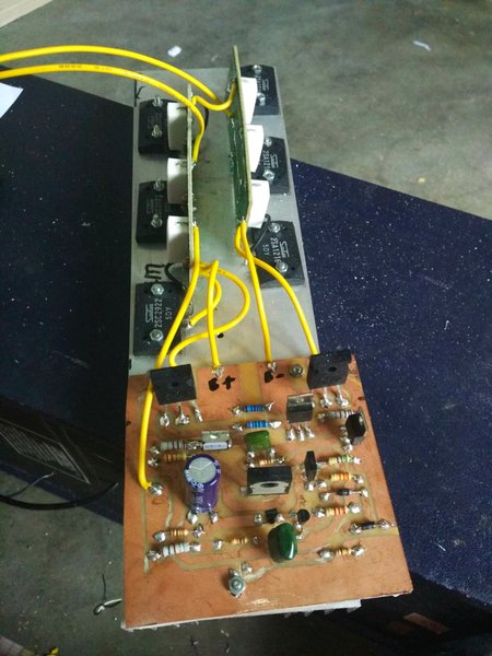 Mesin power amplifier 600 watt Rakitan Rasa Built Up