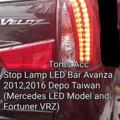 Stop Lamp Led Grand New Veloz Brand Camry Price Harga Lampu Belakang Avanza Xenia 2017 16 17 2016 15 2015 Promo E G 2012 Stoplamp Toyota Murah
