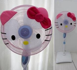 Sarung / Cover / Pelindung / Jaring Kipas Angin - Hello Kitty