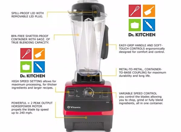 Vitamix Blender TNC-5200