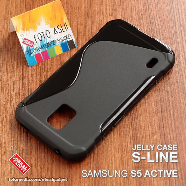 case hp Samsung S5 Active Softcase Silikon Silicon Casing OLOS