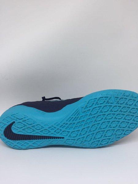 NEW Sepatu futsal Nike original Hypervenom phelon X IC navy-blue new2017