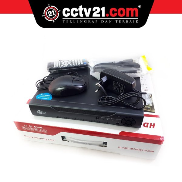 Promo DVR 2MP SOLID 16 Ch Full HD 1080p 5 in 1 Madein Taiwan Garansi Servise 2 Th