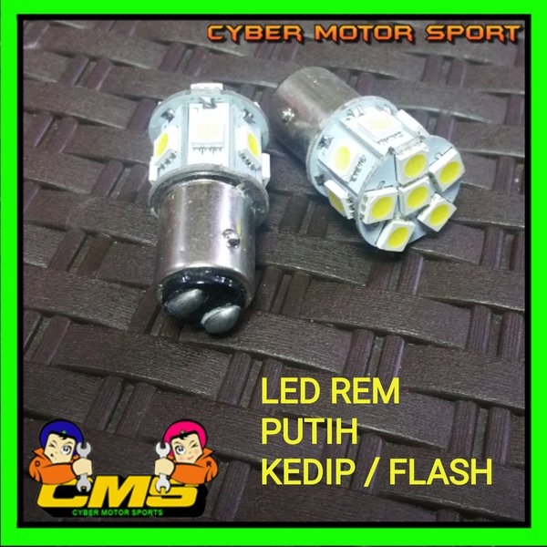 Lampu Rem Kedip. Led stop lamp Blitz kedip 2pcs. bohlam rem led flash