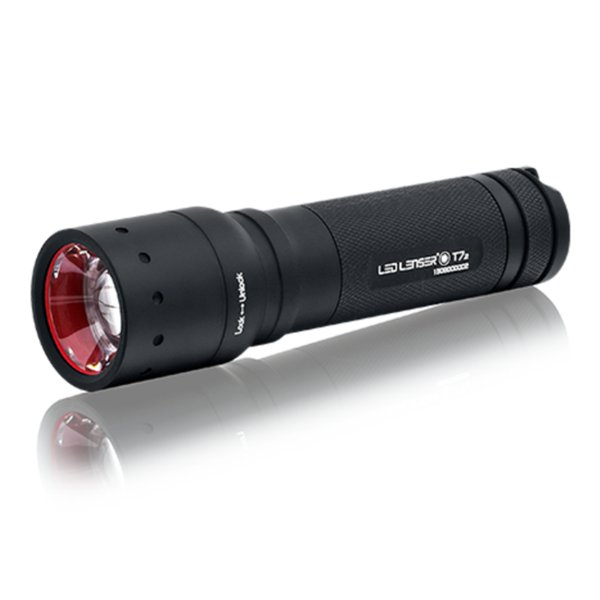 Diskon LED LENSER T7.2 Senter LED CREE 320 Lumens - 9807 - Black