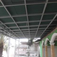Baja Ringan Plafon Pasang Partisi Gypsum Alumunium Atap Di Lapak