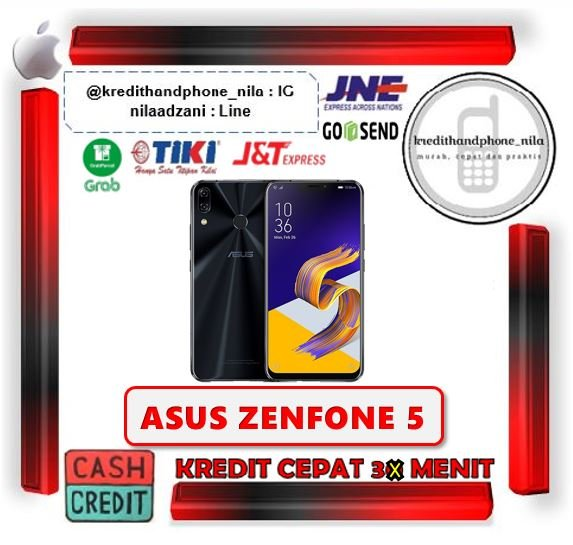 Asus Zenfone 5 ZE620KL RAM 4GB-64GB RESMI - Cash dan Kredit Tanpa CC