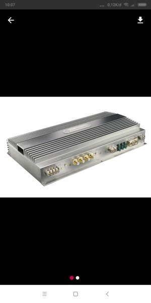 Power amplifier high end 3 channel DLS ultimate A5