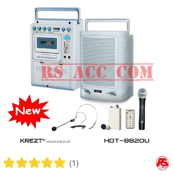 Harga Murah !!! peaker portable wireless PA amplifier krezt HDT 8820 U Meeting Toa Teknologi jerman
