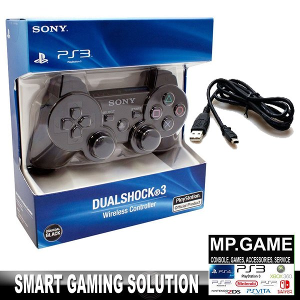 Paket Hemat Stick PS3 Wireless OP + Charger USB