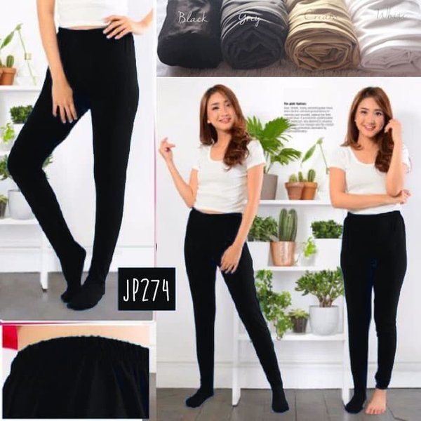 Legging Wudhu Premium Yoorafashion Multifungsi Stocking JP274