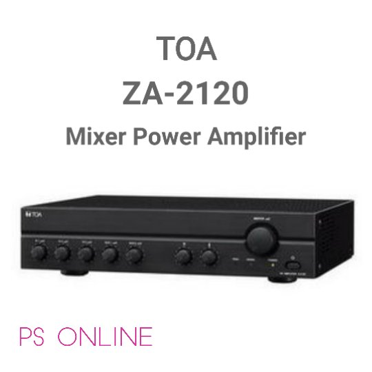 Mixer Power Amplifier TOA ZA -  2120
