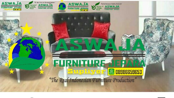 sofa set plus meja aswajafurniture ajf -sofa set -minimalis sofa -furniture jepara jakarta