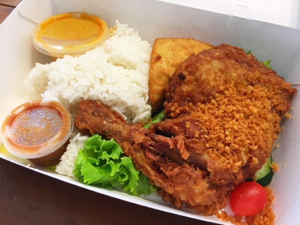Nasi Ayam Penyet by Bryan Lee  Burpple