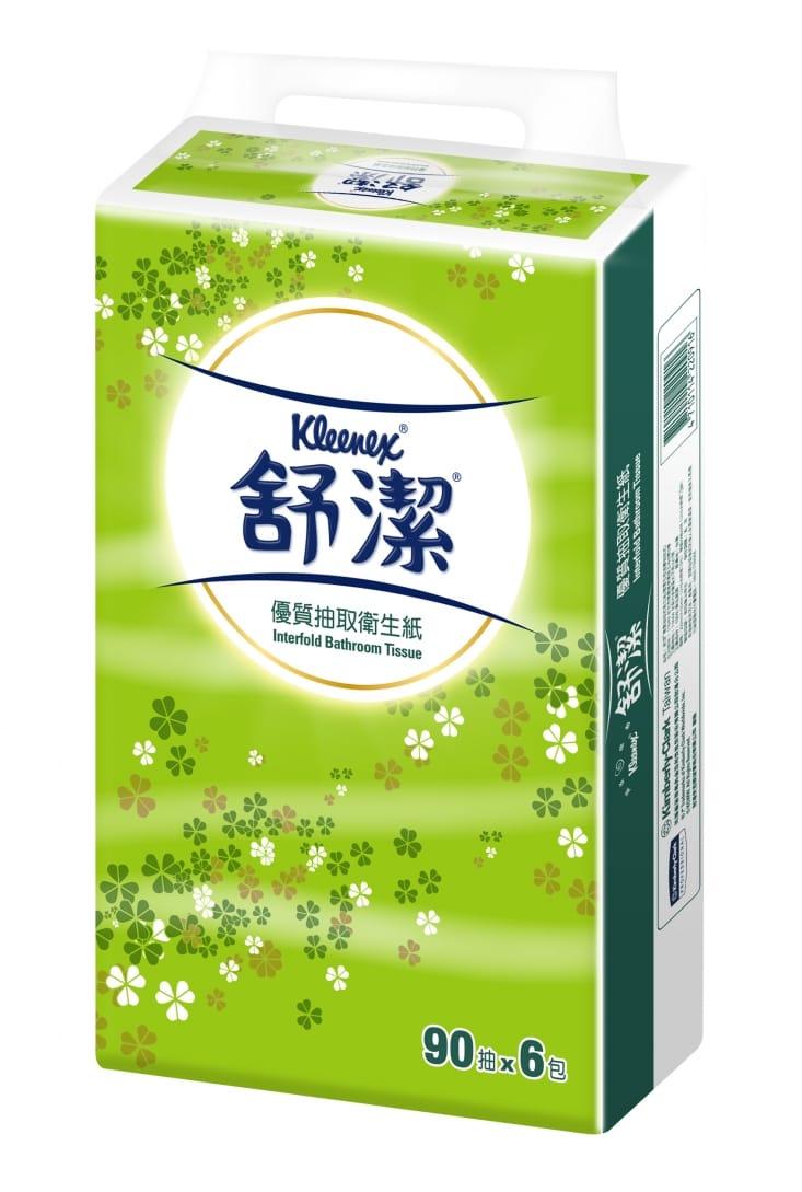 舒潔優質抽取式衛生紙22090 - GOMAJI宅配購物+