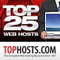 Top 25 Web Hosts