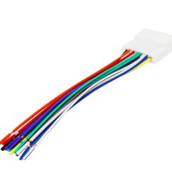 radio wiring harness for nissan 2007 up select subaru 2008 up [ 1600 x 1600 Pixel ]