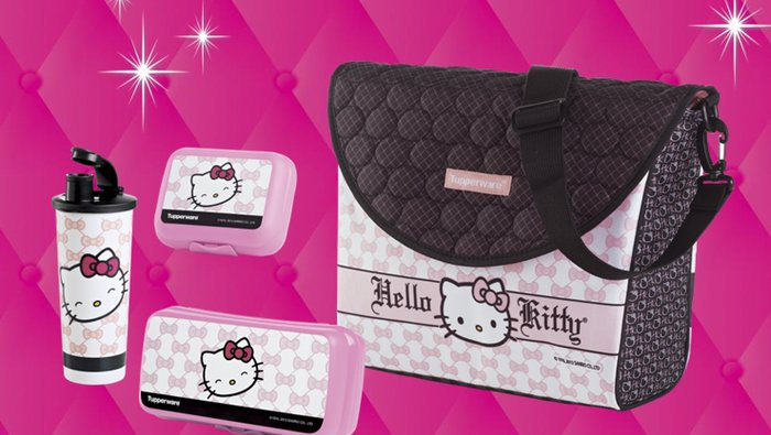 Tupperware Ensemble repas Hello Kitty  lesventesca