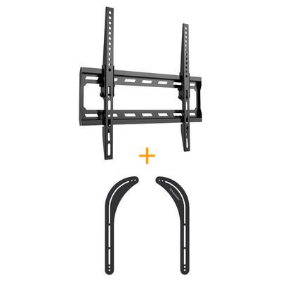 Angle free Tilt mount w/Safety Lock + Universal Sound Bar