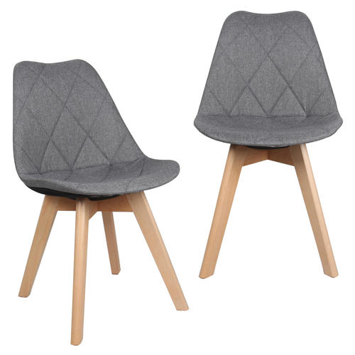 kitchen dining chairs tops cabinets fabric with beech wood legs gray moustache medium plus b3444 mofc d630 14 gy bar stools