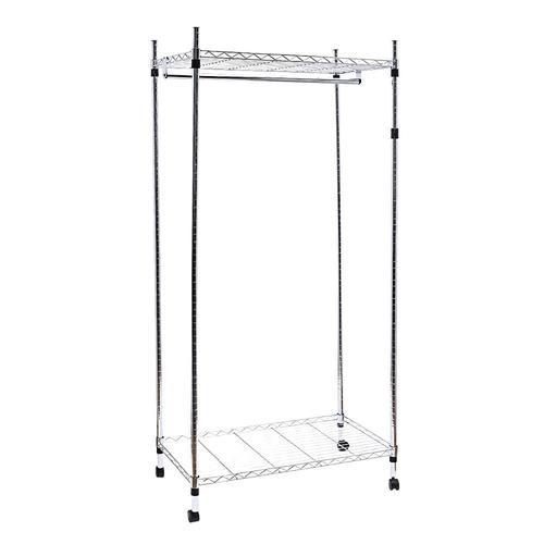 Closet Organizer Wardrobe Rack Storage Free Standing