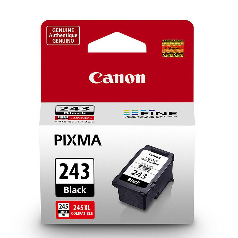 Canon PG-243 Original Black Ink Cartridge (1287C001) at InkJetSuperStore