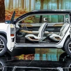Captain Chairs Suv Portable Hammock Chair Jeep Yuntu: Three-row Concept Unveiled In Shanghai