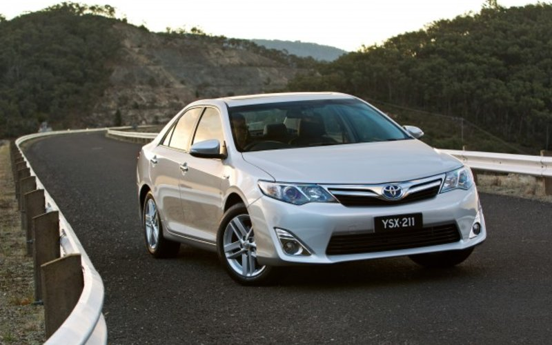 all new camry hybrid review toyota caradvice