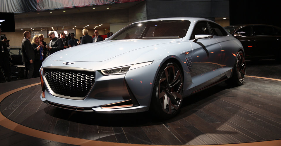 Genesis New York Concept Unveiled Previews Upcoming G70
