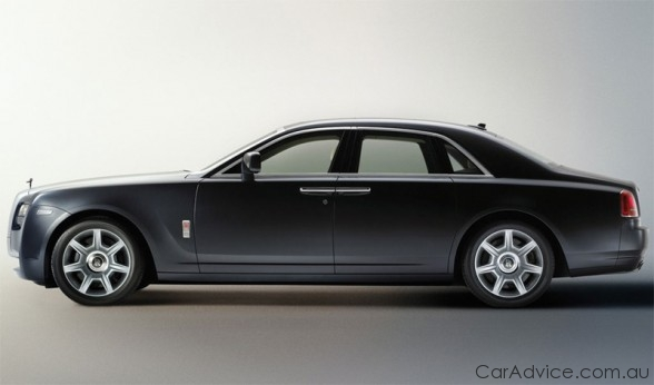Rolls Royce Ghost Hybrid On The Drawing Board Photos 1