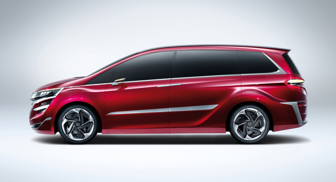 Honda Concept M China Bound MPV Revealed In Shanghai