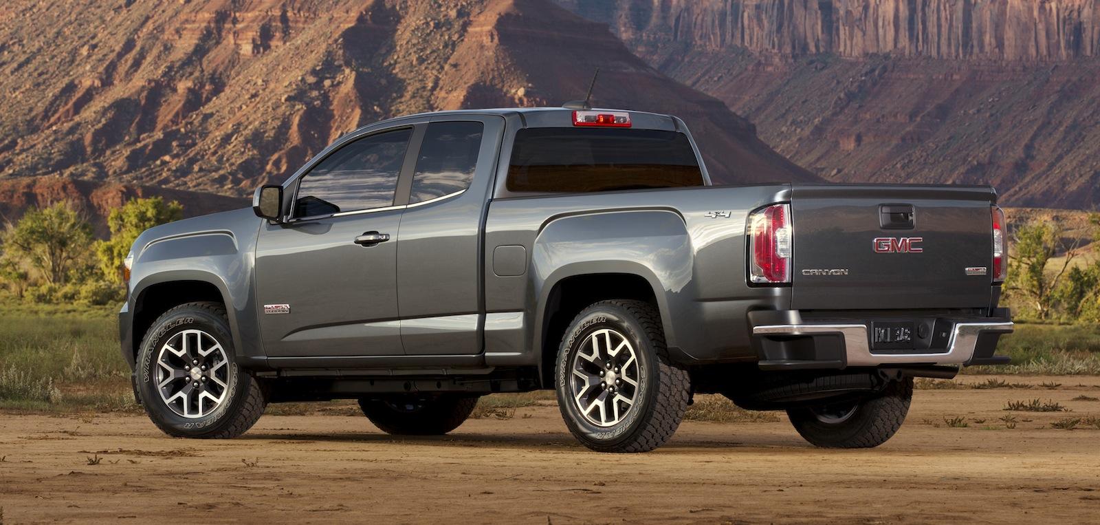 Gmc Canyon Colorado Based Mid Size Pick Up Revealed