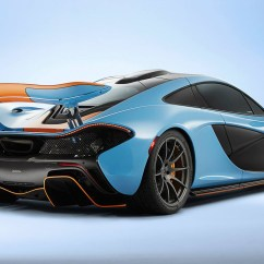 All New Camry 2019 Review Harga Agya Trd 2017 Mclaren P1 Gets Dressed Up In Gulf Colours - Photos ...