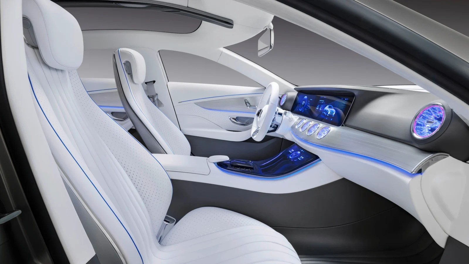 all new camry hybrid review grand avanza g 1.3 putih 2016 mercedes-benz e-class interior previewed by concept ...