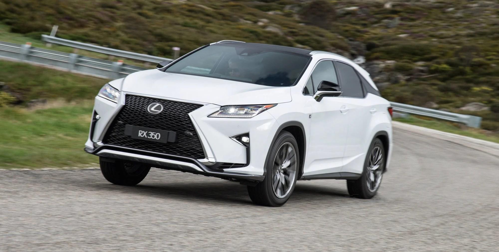 2016 Lexus RX Review  photos  CarAdvice